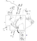 Опора шаровая передняя Ланос Сенс, HS23-DW001, 94788122, фото 4