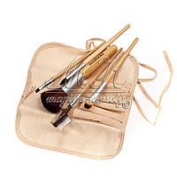 Набір кистей для макіяжу Ecotools з 5 штук в чохлі