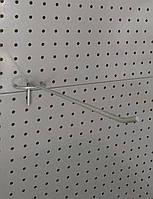 Крючок одинарный торговый для магазина для размещения мелких бытовых предметов 30, фото 1