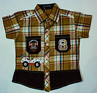 Рубашка-шведка  для мальчика рост 92,110 см, фото 1