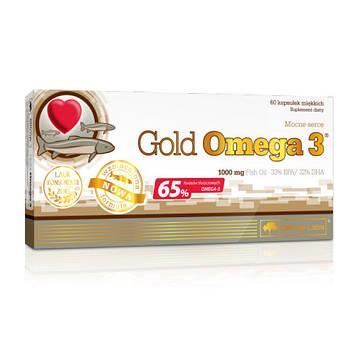 Gold Omega 3 65% (60 caps) жирные кислоты OLIMP