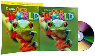 Английский язык / Our World. Student's+Workbook+CDs, Учебник+Тетрадь (комплект с дисками), 1 / NGL