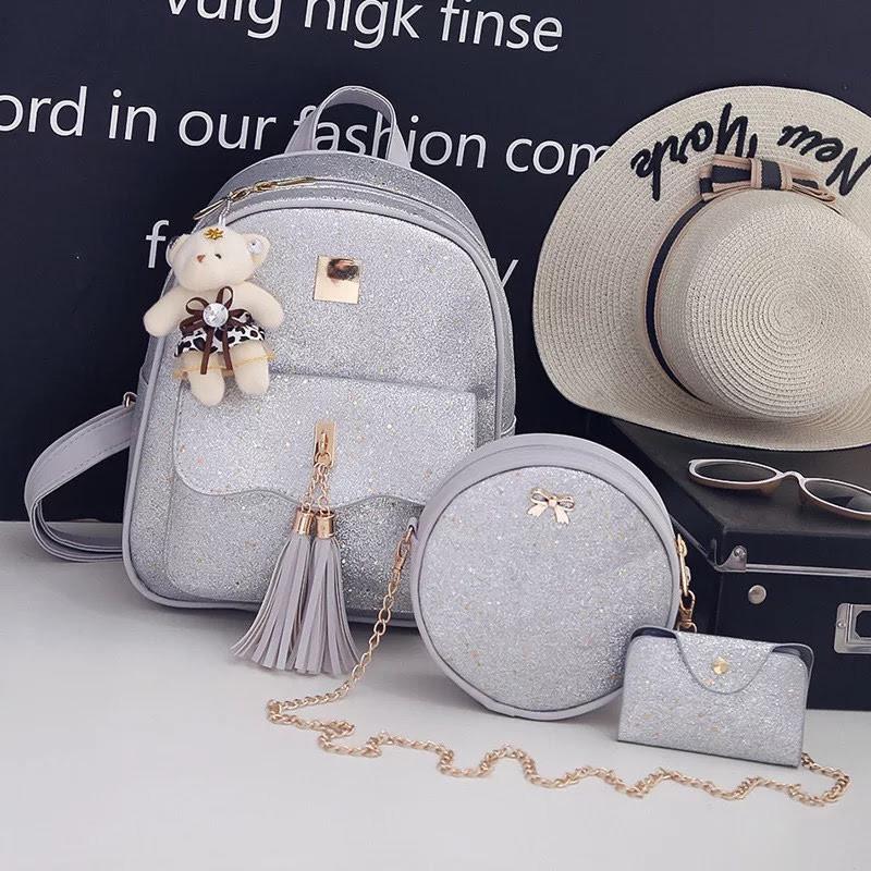 Рюкзак женский Стелла 3 в 1 в наборе