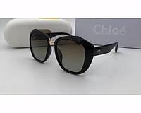 Женские солнцезащитные очки в стиле Chloe (9918) , фото 1
