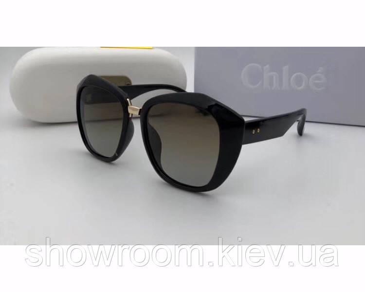 Женские солнцезащитные очки в стиле Chloe (9918)