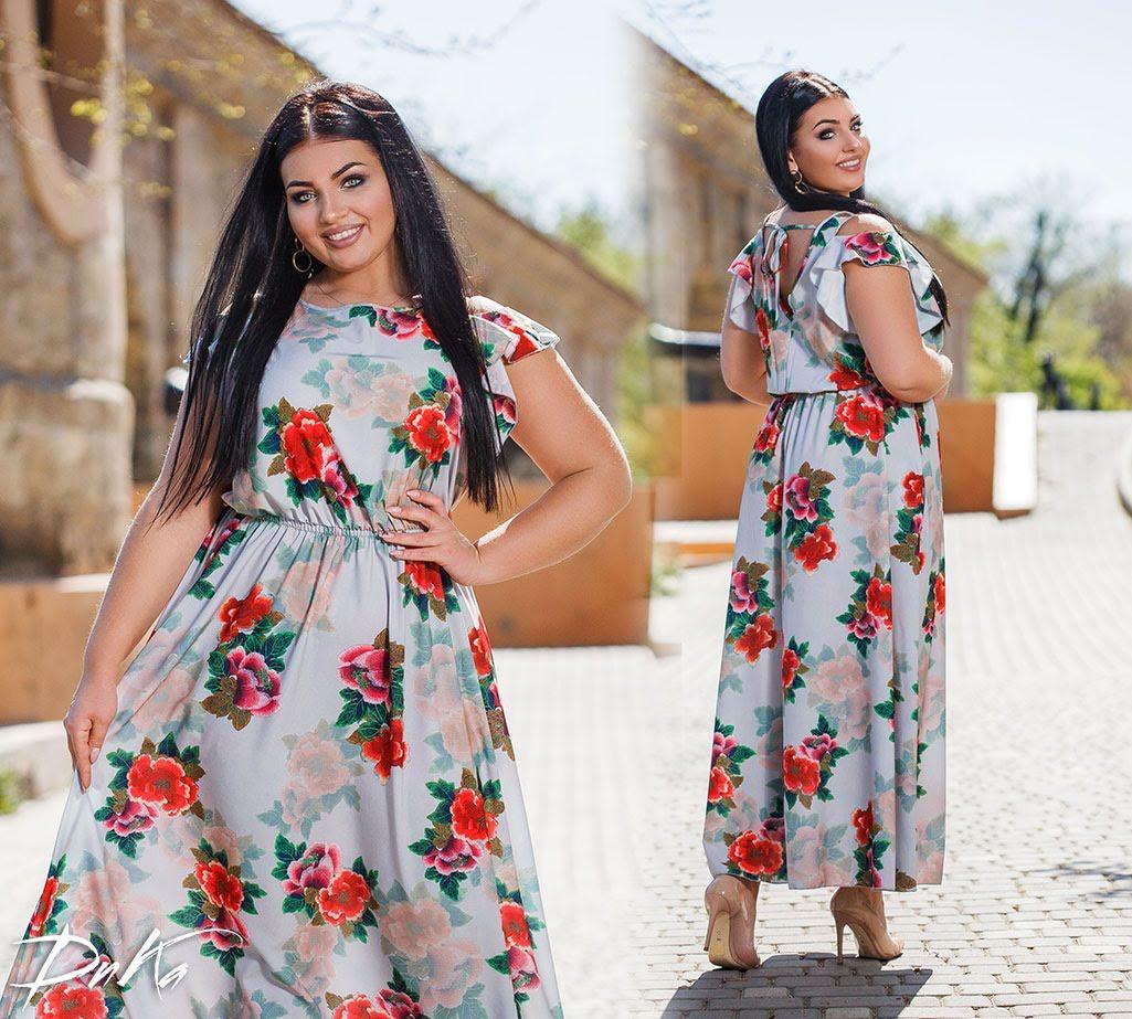 Платье женское 41299дг батал