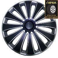 Колпаки R13 Star GMK Super Black (карбон)