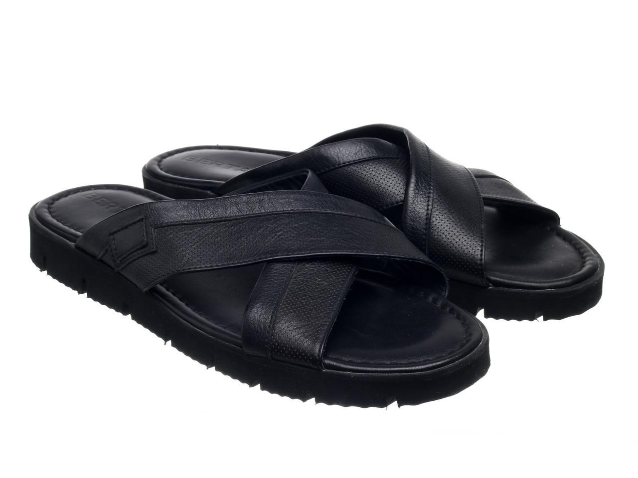 Шлепанцы Etor 696-132 45 черные