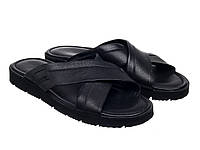 Шлепанцы Etor 696-132 45 черные, фото 1