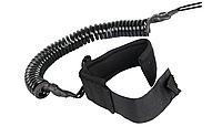 Лиш витой SUP Coil Leash 10', 6mm, black