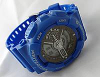 Яркие часы G-Shock G100, водонепроницаемые, синие, фото 1