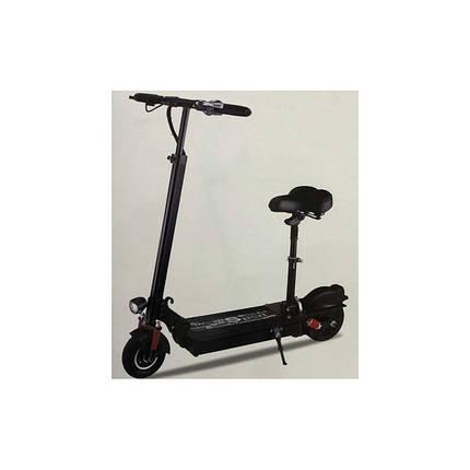 Электросамокат Scooter черный детский мощность 350W, фото 2