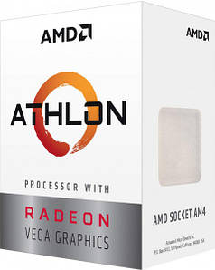 Процессор AMD Athlon 200GE YD200GC6FBBOX (sAM4, 3.2 Ghz) BOX