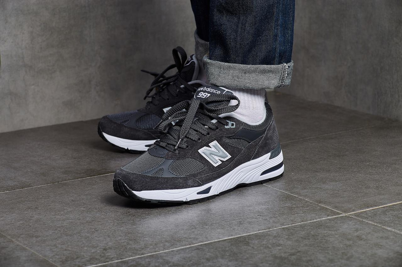 Мужские кроссовки New Balance 991 Dark Grey ( Реплика ) Остался 41 размер
