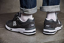 Мужские кроссовки New Balance 991 Dark Grey ( Реплика ) Остался 41 размер, фото 3