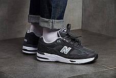 Мужские кроссовки New Balance 991 Dark Grey ( Реплика ), фото 2