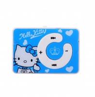 Детский MP3 плеер Hello Kitty голубой
