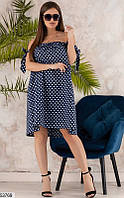 Сарафан женский летний свободный коттоновый размер 42-46 универсальный, 3 цвета