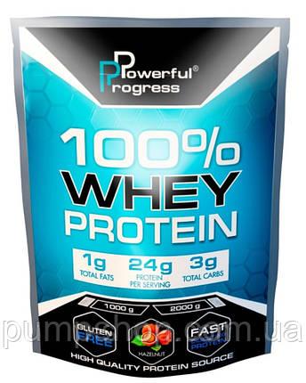 Сывороточный протеин Powerful Progress 100% Whey Protein 1000 г, фото 2