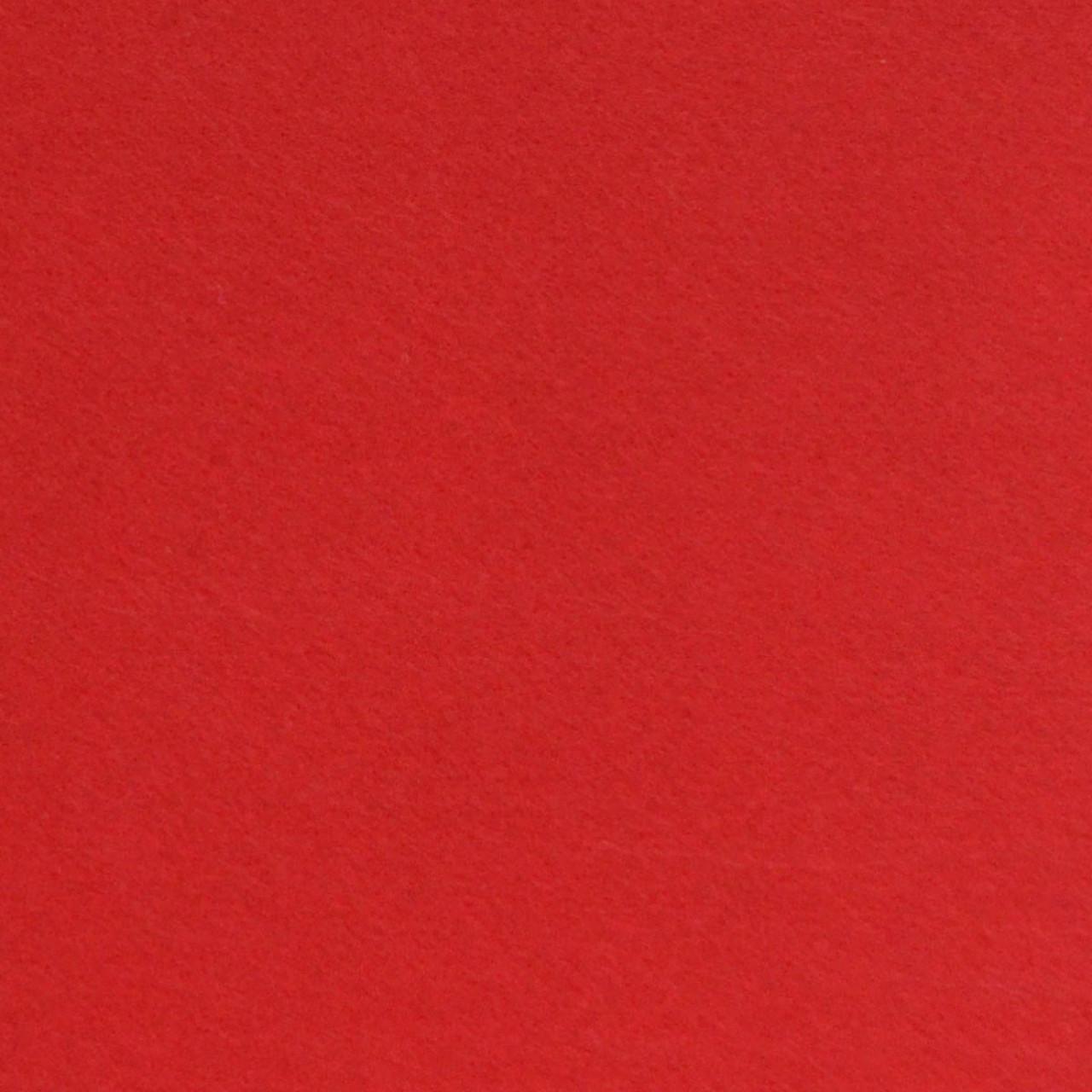 Набір фетр  м'який червоний  , 21*30см (10 л.) Santi