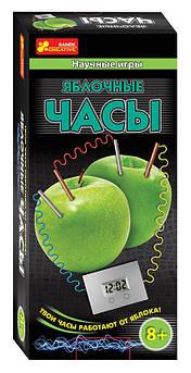 """Научная игра """"Яблочные часы"""""""