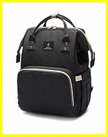 Сумка-рюкзак Mummy Bag.  Удобная сумка для мам органайзер, сумка для сохранения тепла. Сумка на коляску, фото 1
