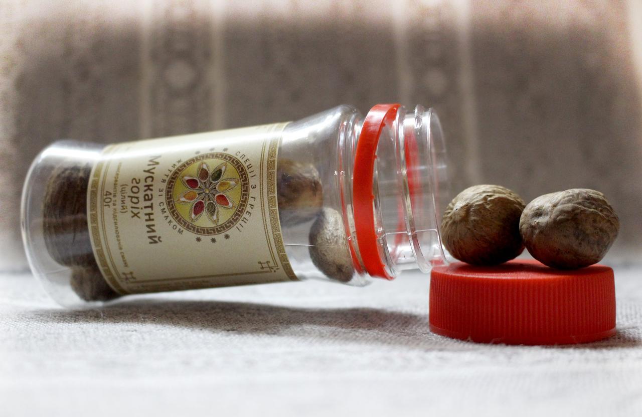 Мускатний горіх цілий 40 г