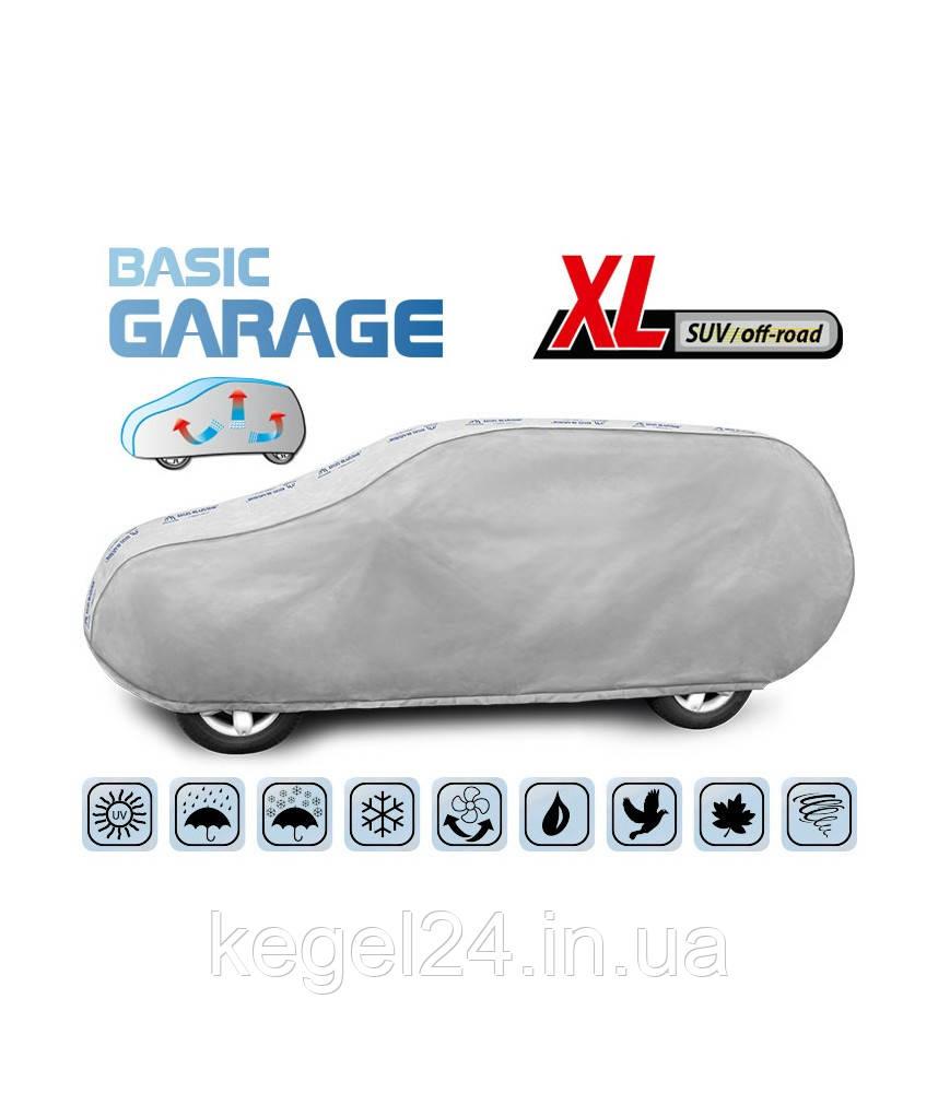 """Чохол-тент для автомобіля """"Basic Garage"""" розмір XL SUV/Off Road"""