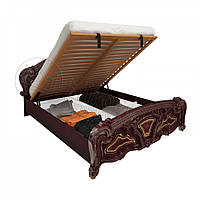 Двоспальне ліжко 160х200 з підйомним механізмом у спальню Реджина Перо Рубіно Міромарк