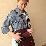 Жіноча сумочка  «Mavka» з натуральної шкіри, фото 3