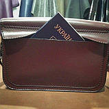 Жіноча сумочка  «Mavka» з натуральної шкіри, фото 9