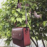 Жіноча сумочка  «Mavka» з натуральної шкіри, фото 5