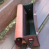 Жіноча сумочка  «Mavka» з натуральної шкіри, фото 4