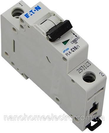 Автоматический выключатель Eaton-Moeller PL4-C 1P 10A  - NanohomeElectro в Днепре