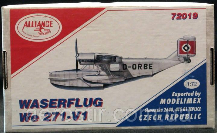 Waserflug We 271-V1 1/72 Alliance Models 72019
