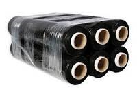 Стрейч черный 300метров 24мкм