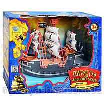 Пиратский Корабль Пираты Черного Моря КОРАБЛЬ ПИРАТОВ корабель піратів Limo Toy M 0512 U/R 011044