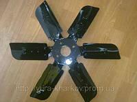 Крыльчатка вентилятора ЯМЗ-236 (внутр. D-50 mm,D-520 mm) 236-1308012