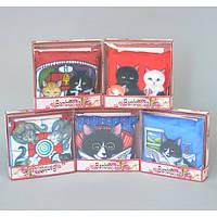 """Саше ароматическое для белья """"Кошки"""" SH076, размер 14х14 см, 10 видов, в подарочной упаковке, саше для шкафа, арома саше"""