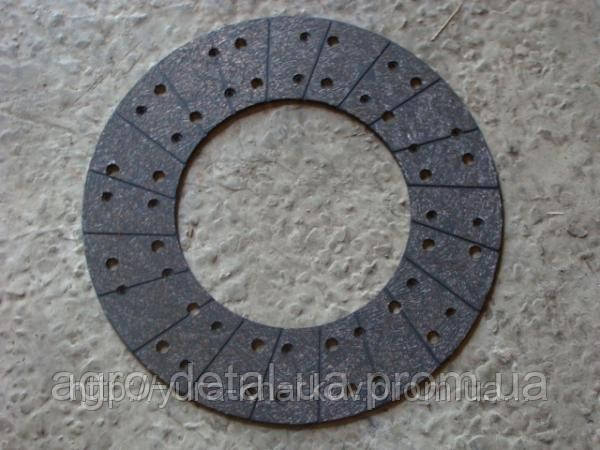 Накладка 184-1601138-10 сцепления фрикционная (сверленная) (ТИИР)