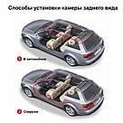Автомобільне дзеркало відеореєстратор для авто на 2 камери VEHICLE BLACKBOX DVR 1080p камерою заднього виду, фото 10