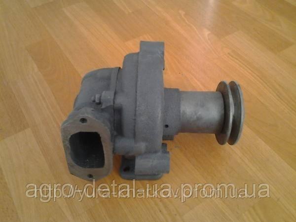 Насос водяной 7511.1307010-01 в сборе со шкивом Евро-2 двигателя ЯМЗ 7511.10