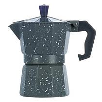 Гейзерная кофеварка, маленькая, серая, R16591