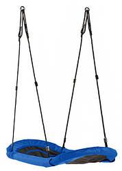 Детская качеля лодка подвесная Zolta 167*70 см синий (8050)