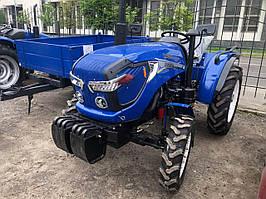 Міні-трактор Оріон RD-244 - 24 к. с., ГУР, повний привід, широка гума