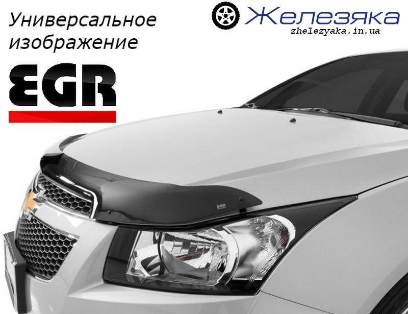 Дефлектор капота (мухобойка) Mitsubishi Outlander 2012 (EGR)