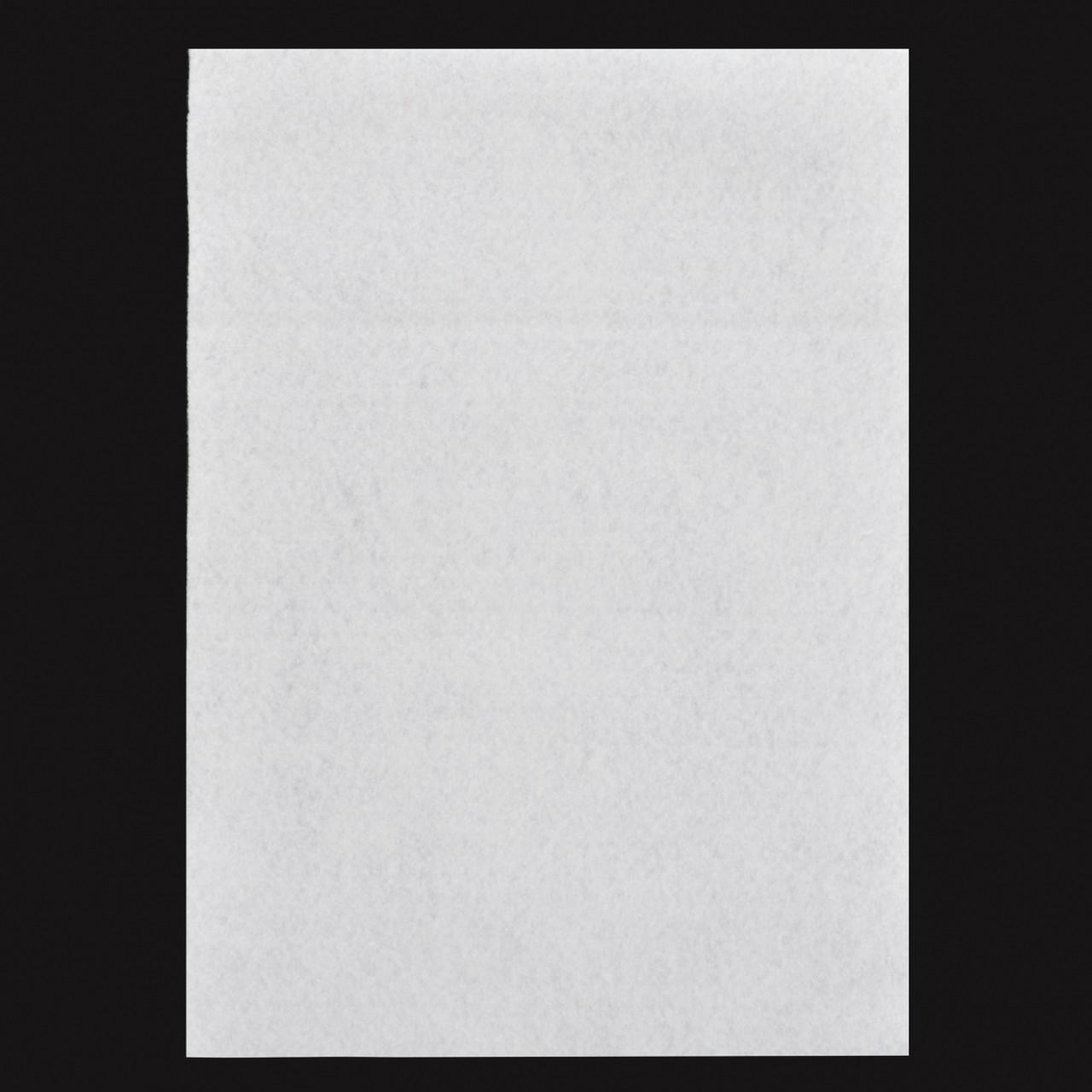 Фетр  жорсткий  білий 21*30см (10л) Santi