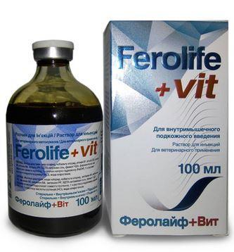 Феролайф + вит, 100мл
