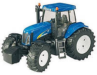 03020 Bruder трактор New Holland