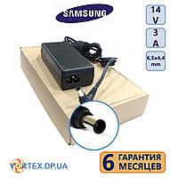 Блок питания 6,5-4,4 3A 14V Samsung класс А+ (кабель питания в подарок) нов